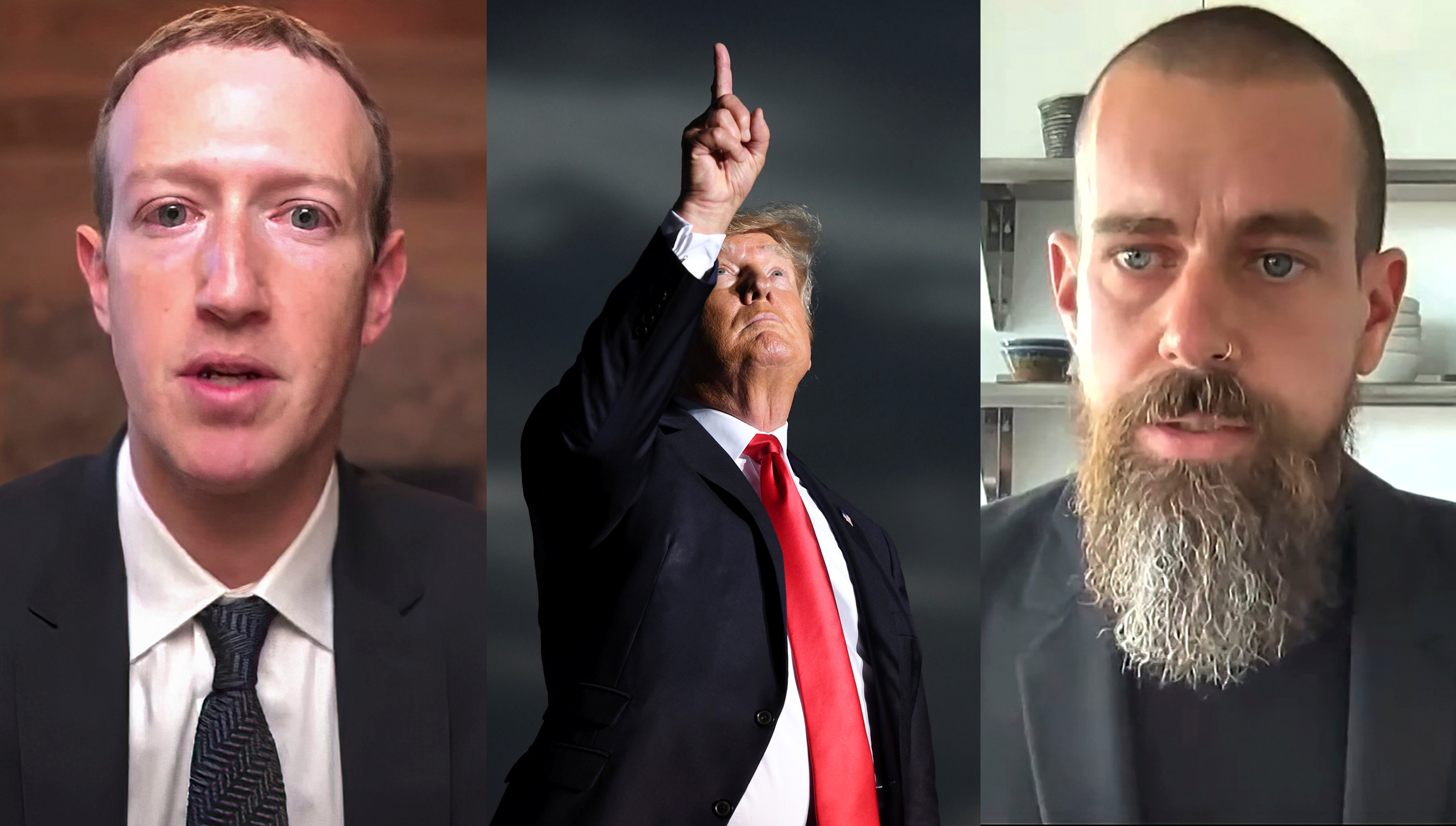 Donald Trump îi dă în judecată pe Mark Zuckerberg și Jack Dorsey, CEO-ul Twitter