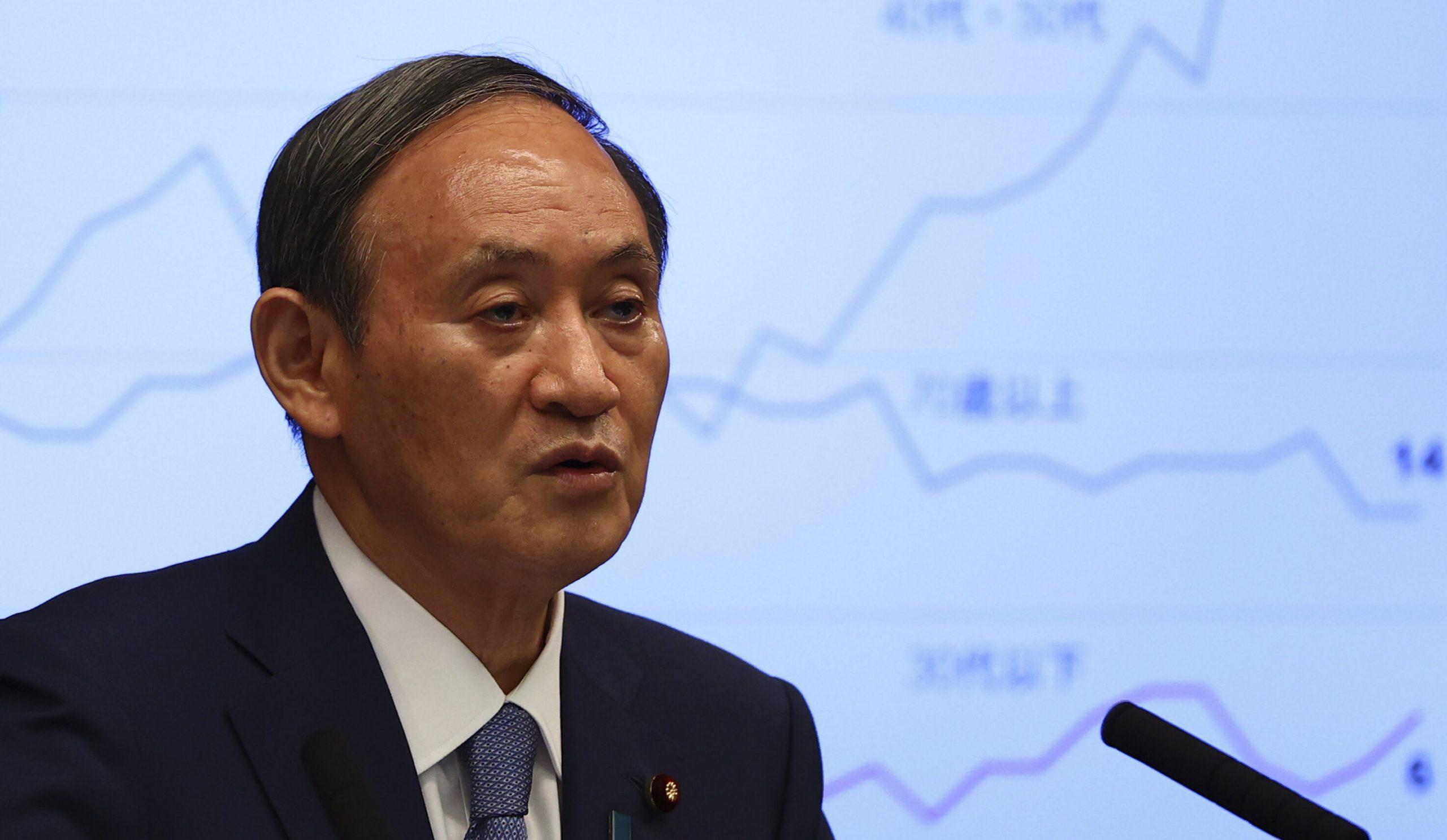 Premierul Japoniei refuză să candideze pentru președinția partidului pe care îl conduce, pentru a se concentra pe criza Covid