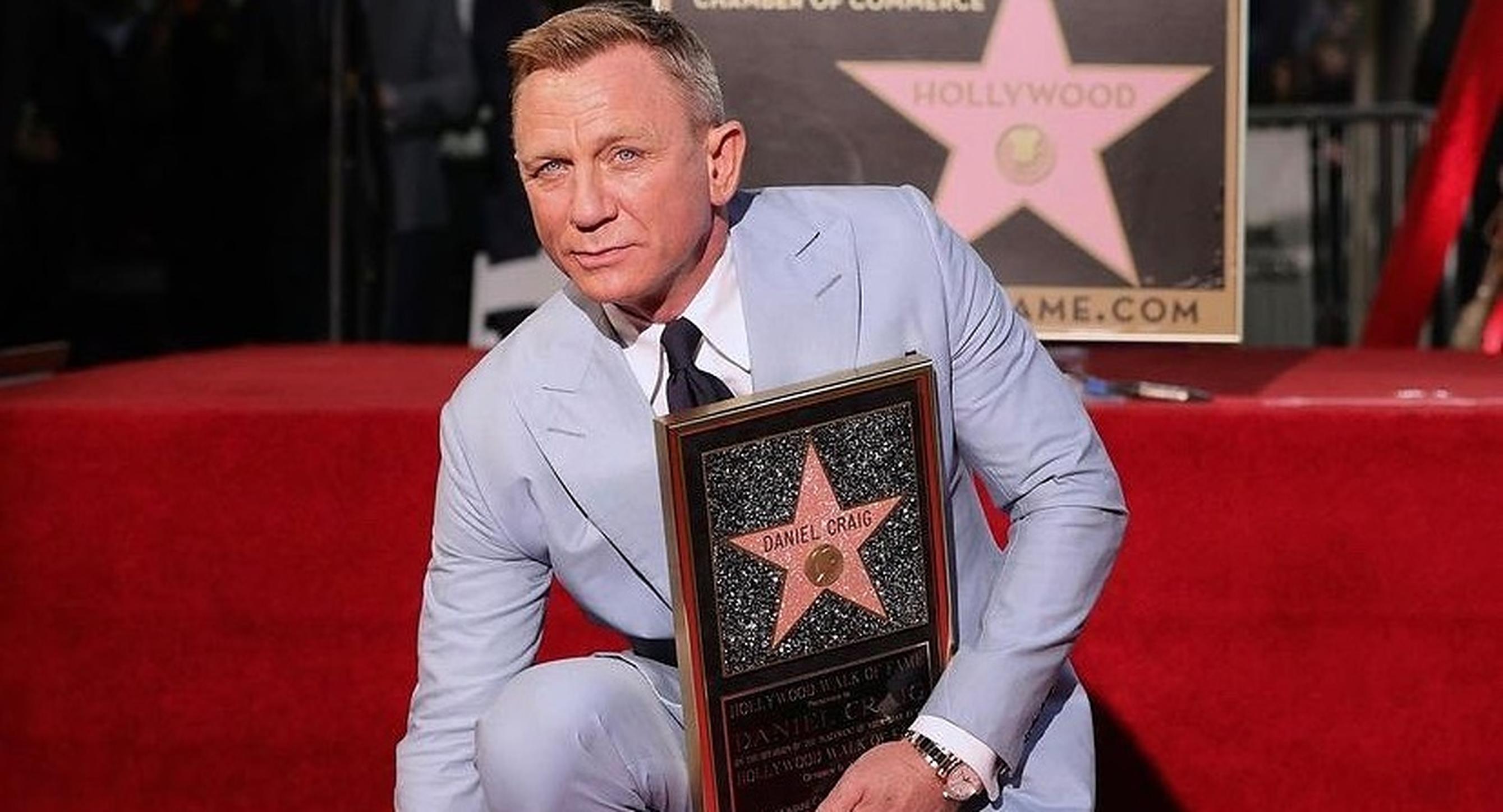 Daniel Craig a primit o stea pe bulevardul Walk of Fame din Hollywood, la numărul 7007