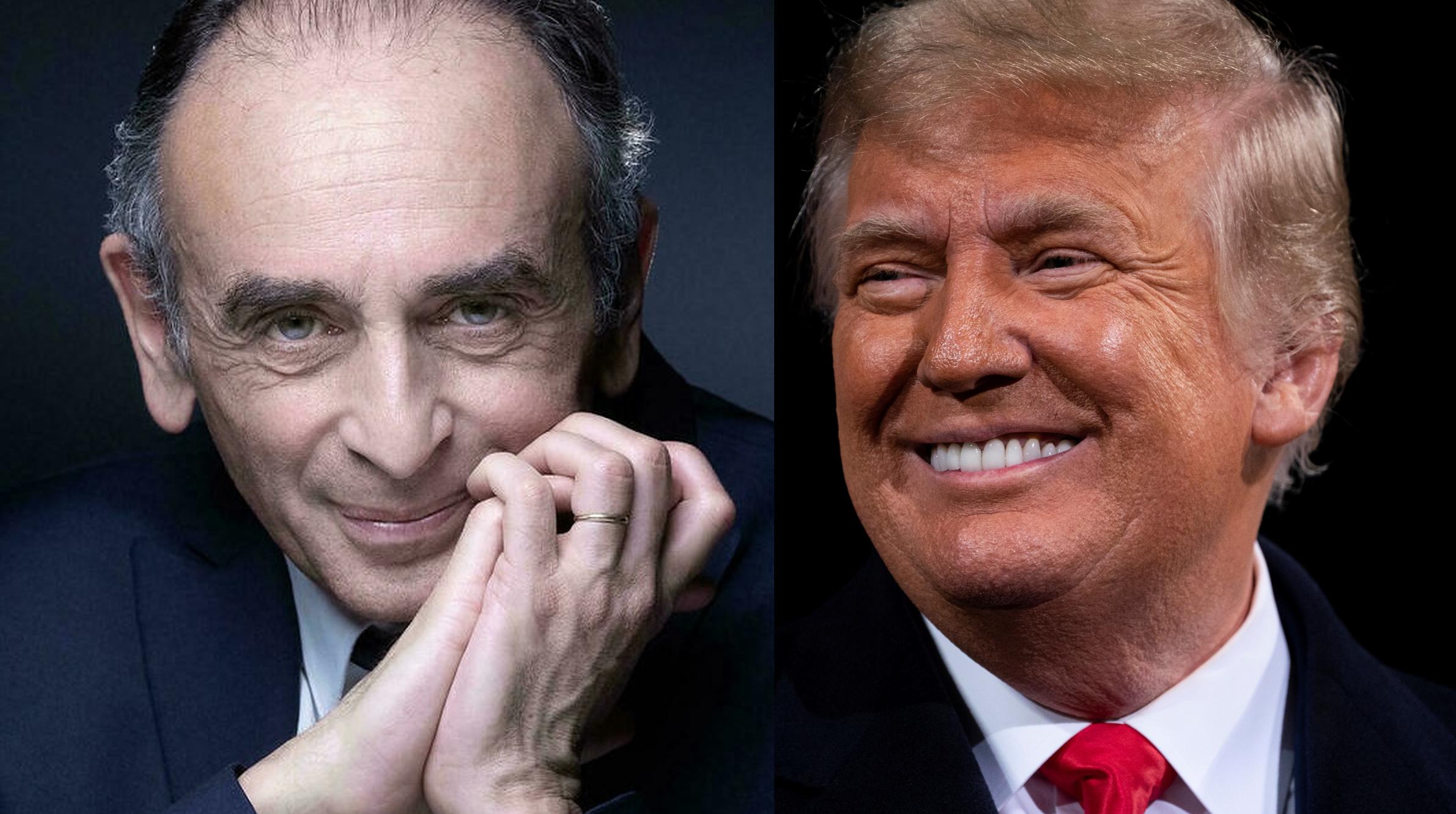 Eric Zemmour, candidat la alegerile prezidențiale din Franța, pare a fi Donald Trump francez. Asemănările dintre cei doi